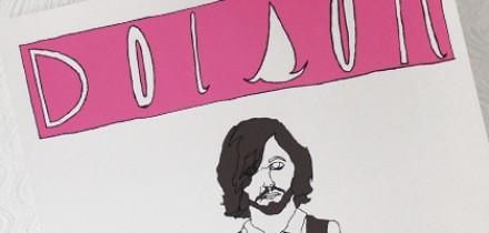 Dolson/Lovedrug Gig Poster